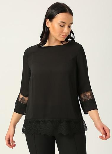 Ekol Ekol 2071 Siyah Kadın Bluz Siyah